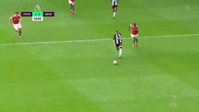 1:1 Манкильо («Ньюкасл») забивает с паса Сент-Максимена
