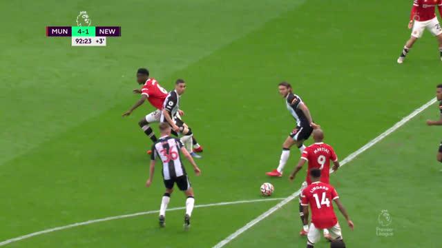 4:1. Лингард («Манчестер Юнайтед») делает счет разгромным