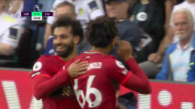 0:1. Салах («Ливерпуль») забивает 100-й гол в АПЛ!