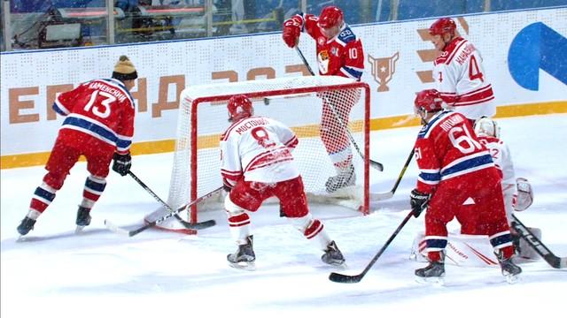 спартак хоккейный клуб москва игры