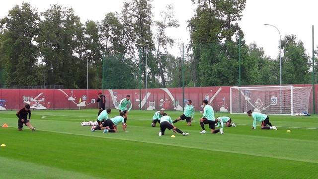 Тренировка сборной Португалии