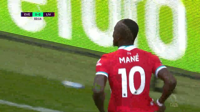 0:1. Мане («Ливерпуль») открывает счет с передачи Робертсона