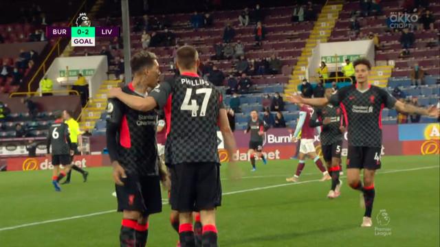 0:2. Филлипс («Ливерпуль») забивает с подачи Мане