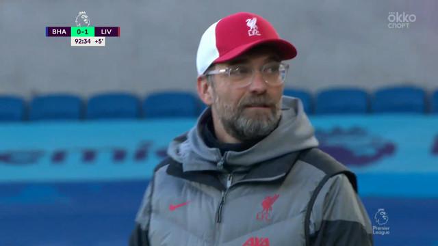 «Ливерпуль» стал лидером АПЛ, сыграв вничью с «Брайтоном»