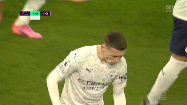 1:1. Фоден («Манчестер Сити») сравнивает счет с передачи Силвы
