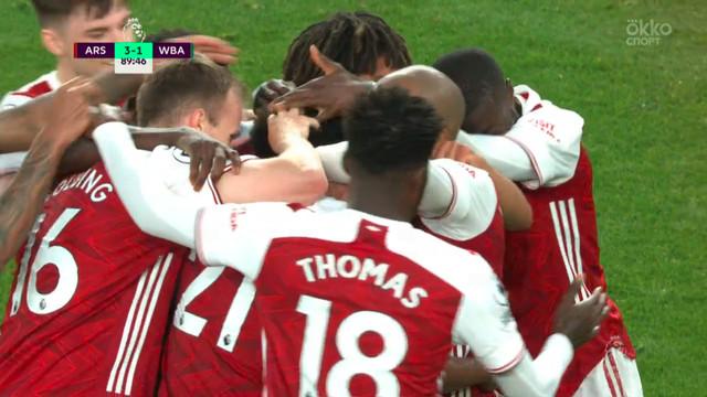 Шикарный гол Пепе — в обзоре «Арсенал» — «Вест Бромвич»