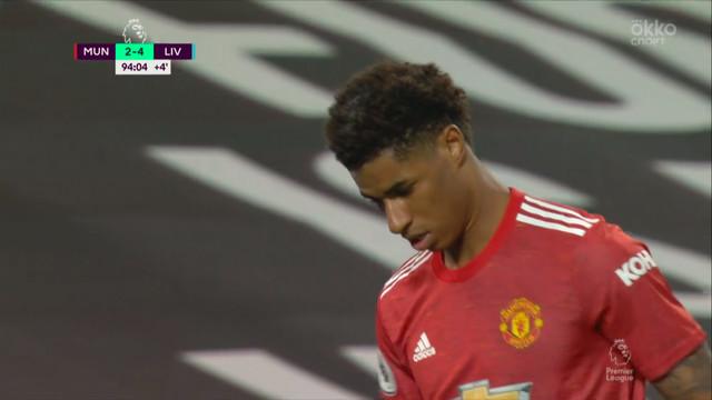 Рашфорд («Ман Юнайтед») пробил в сантиметрах от штанги