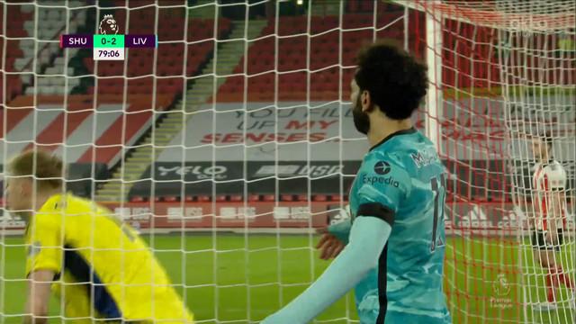 Салах («Ливерпуль») едва не забил с передачи Робертсона