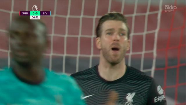 Адриан («Ливерпуль») спасает команду после удара Макголдрика!