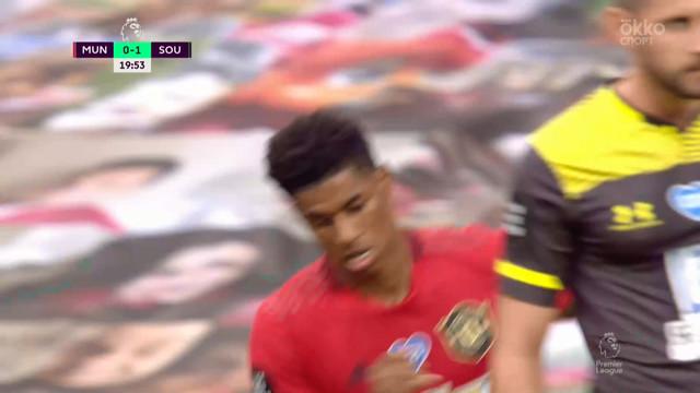 1:1. Рашфорд («Ман Юнайтед») сравнивает счет в матче