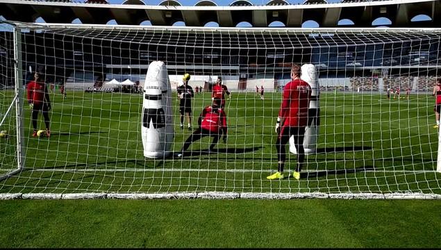 Вратари «Спартака» работают под руководством Макса Урванчки