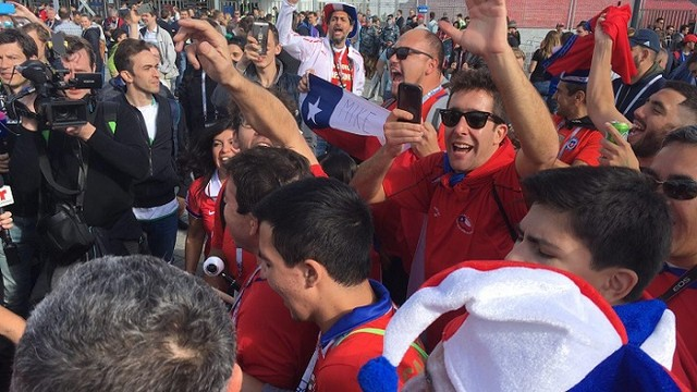 Кубок конфедераций. 3-й тур. Чили — Австралия