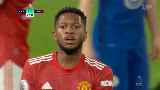 Фред («Ман Юнайтед») опасно пробил с правой ноги