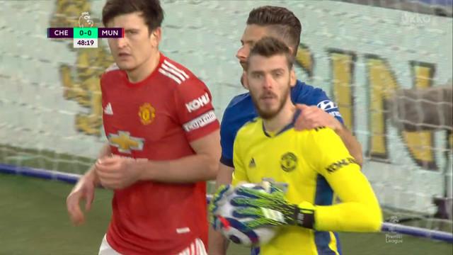 Де Хеа («Ман Юнайтед») спасает команду после удара Зиеша!