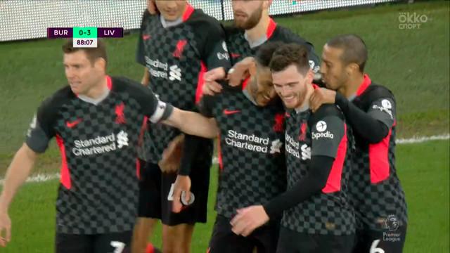 «Ливерпуль» разгромил «Бёрнли» и вернулся в зону Лиги чемпионов