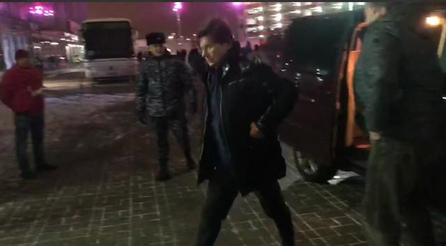 Леонид Федун прибыл на игру «Спартак» — «Локомотив»