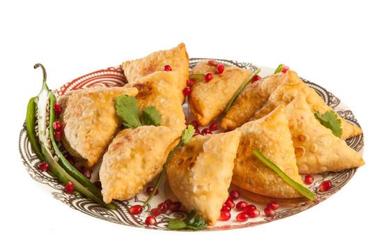 Индийские самосы с картофелем