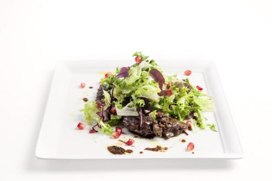 Салат с печенью видео рецепт 41