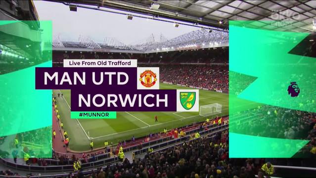 «Манчестер Юнайтед» — «Норвич». Обзор матча. АПЛ 19/20. 22-ой тур