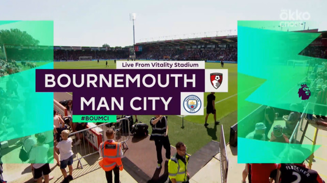 Highlight матча Борнмут - Манчестер Сити