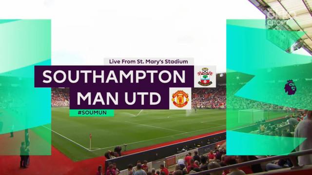 Highlight матча Саутгемптон - Манчестер Юнайтед